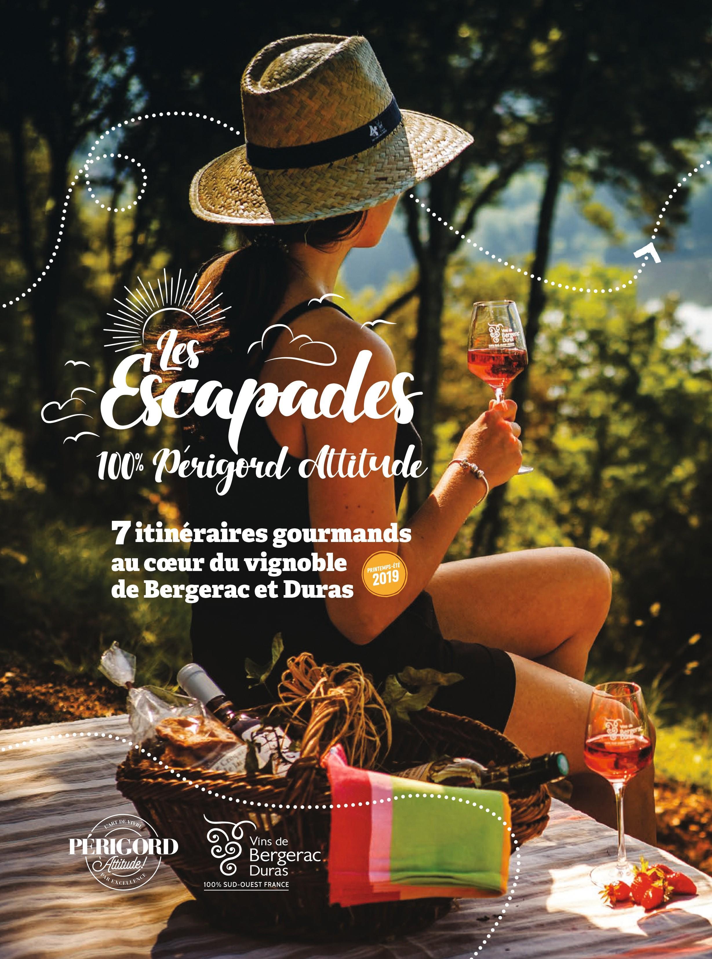 affiche campagne internationale vins de Bergerac et de Duras