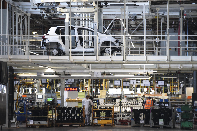 L'usine d'assemblage PSA à Mulhouse