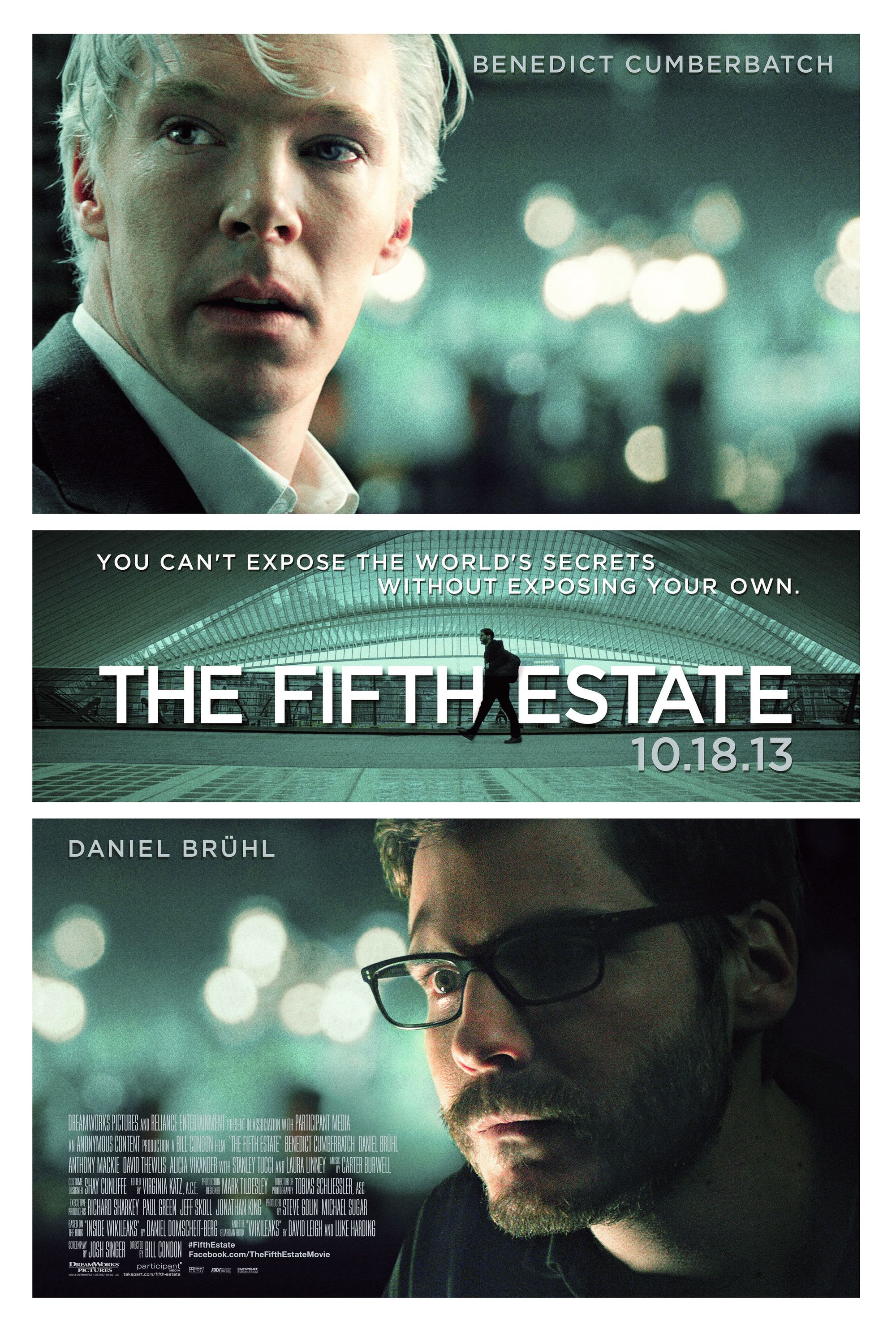The Fifth Estate by Bill Condon, 2013.
