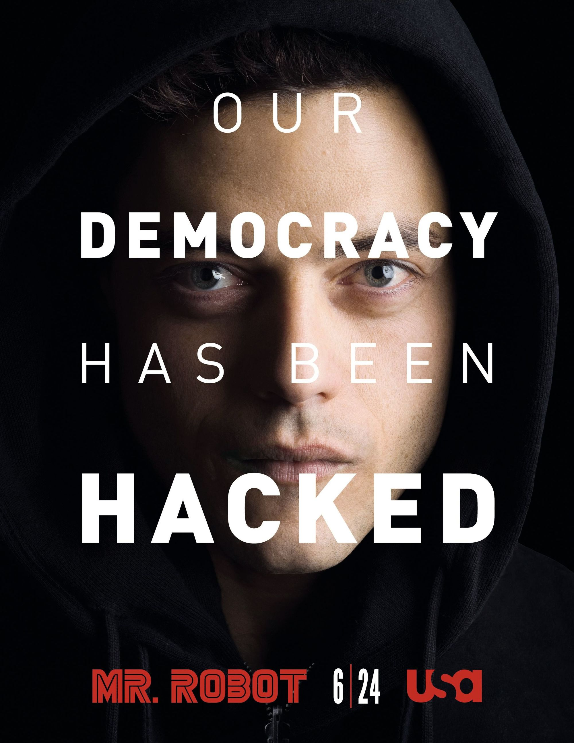 Mr Robot, by Sam Esmail, 2015.