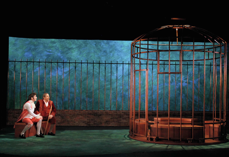 Mise en scène d'Armand Éloi, 2015, Théâtre 14, Paris.