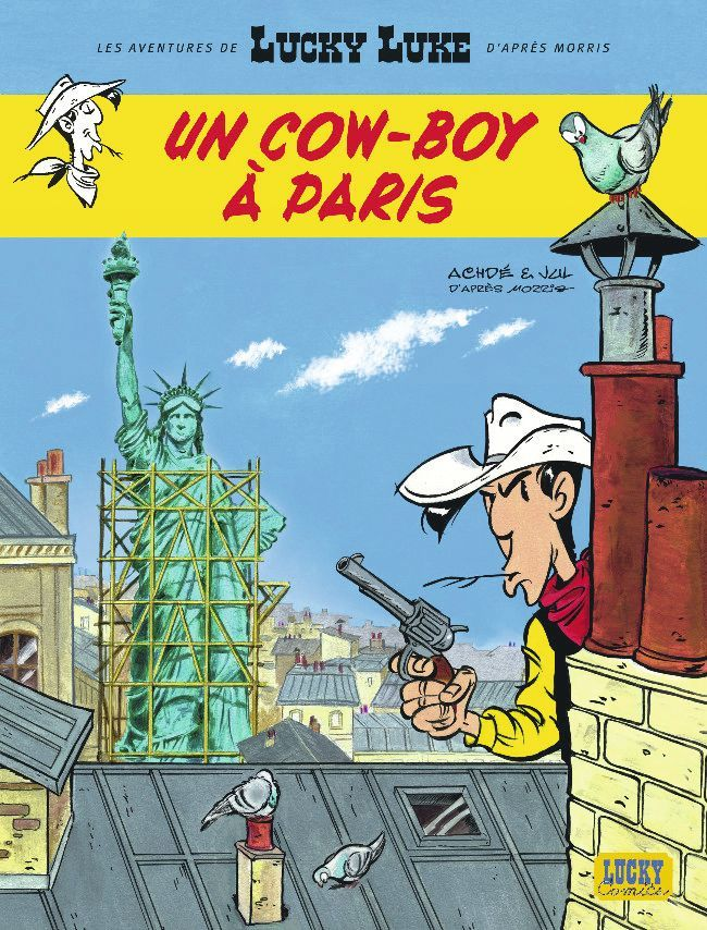 Jul et Achdé, Un cow-boy à Paris, 2018.