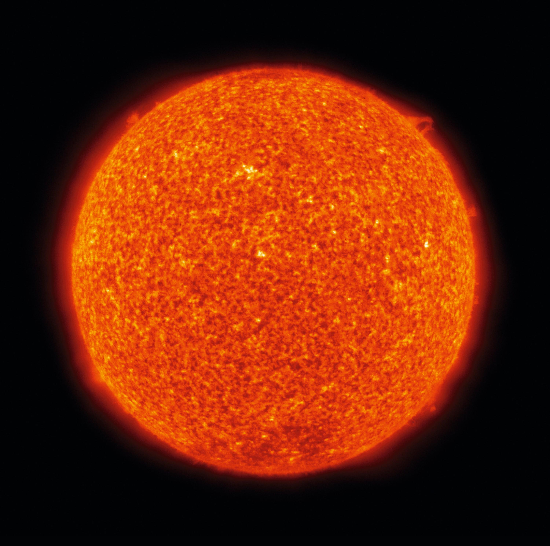 carte d'identité du soleil