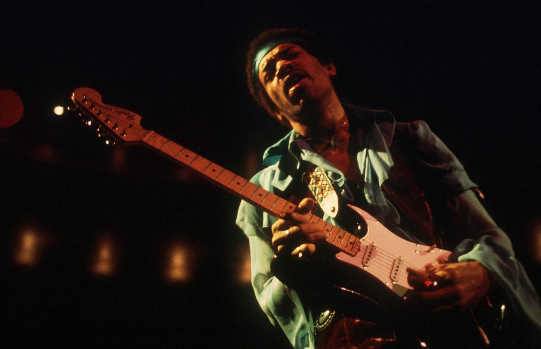 Jimi Hendrix, 1970.