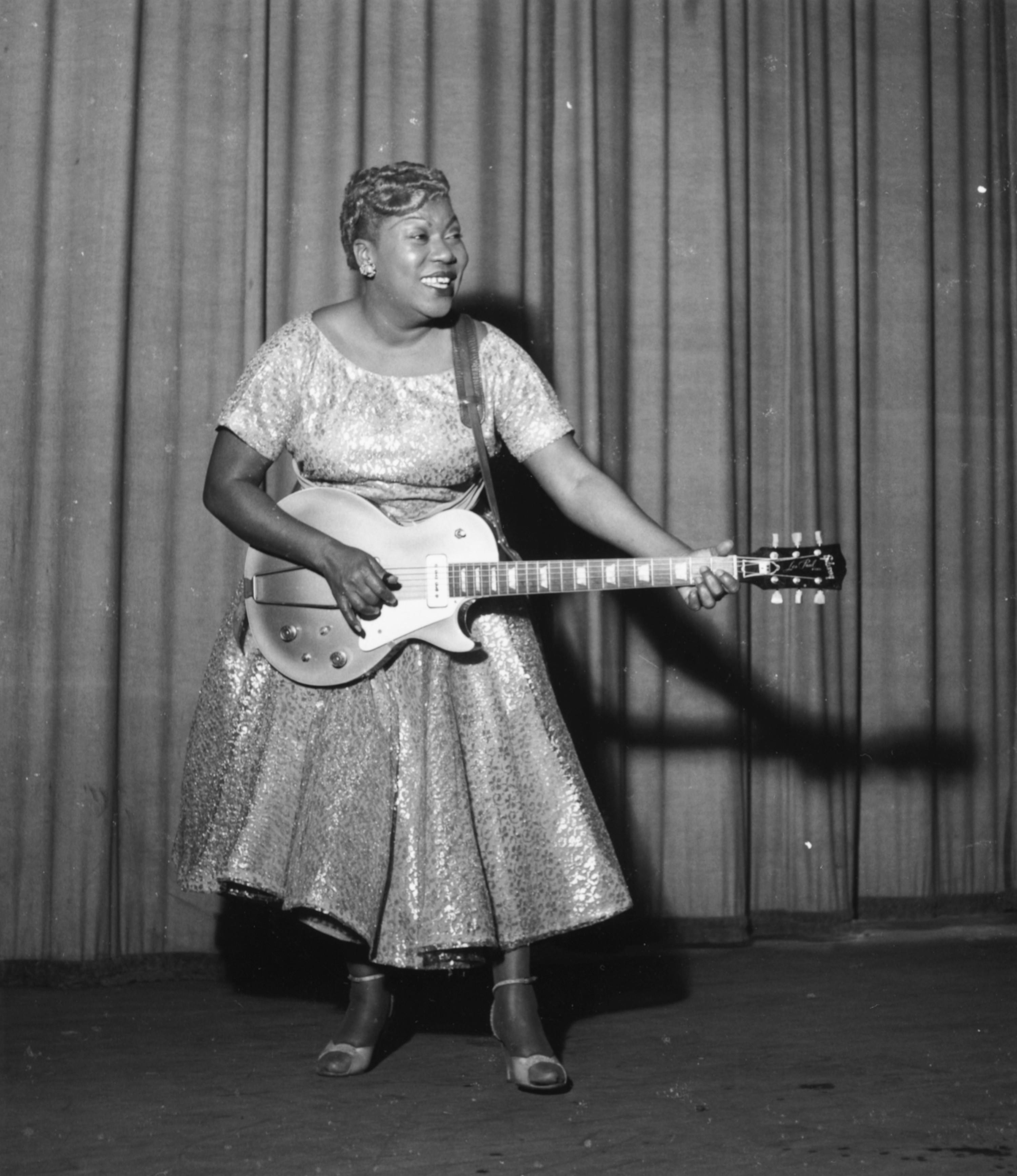 Sister Rosetta Tharpe, 1957.