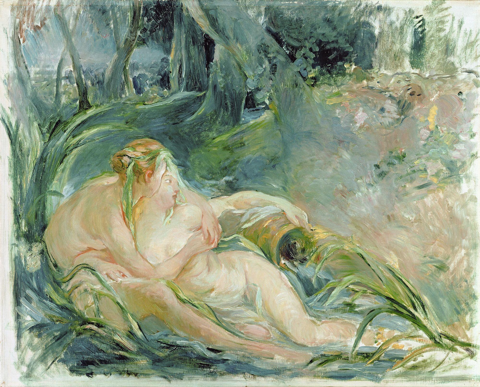 Berthe Morisot Jupiter et Callisto