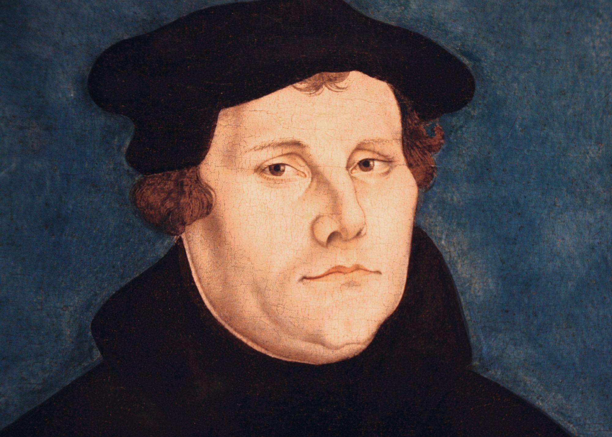 Lucas Cranach l'Ancien, Luther, 1528