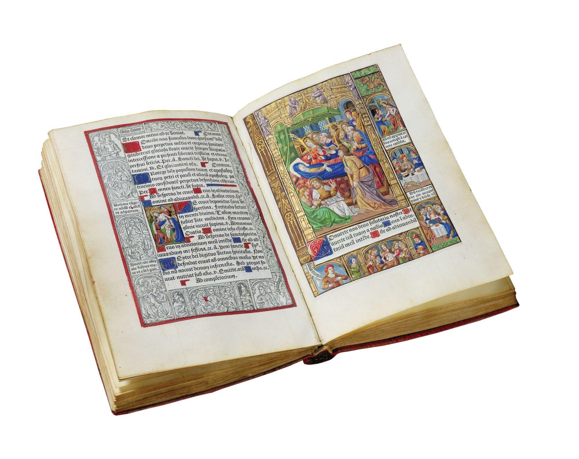 Livre d'heures, imprimé en France par Philippe Pigouchet, v. 1502