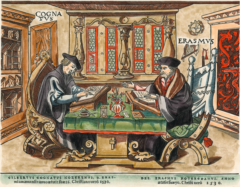 Gravure sur bois attribuée à Hans Rudolf Manuel, v. 1533