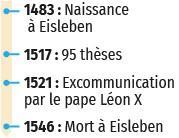 1517 - Luther ouvre le temps des réformes, dates