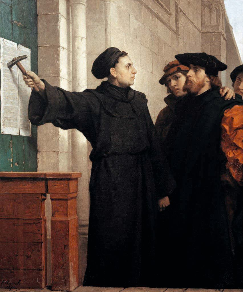 Réaliser un « placard » et diffuser ses idées ! Luther
