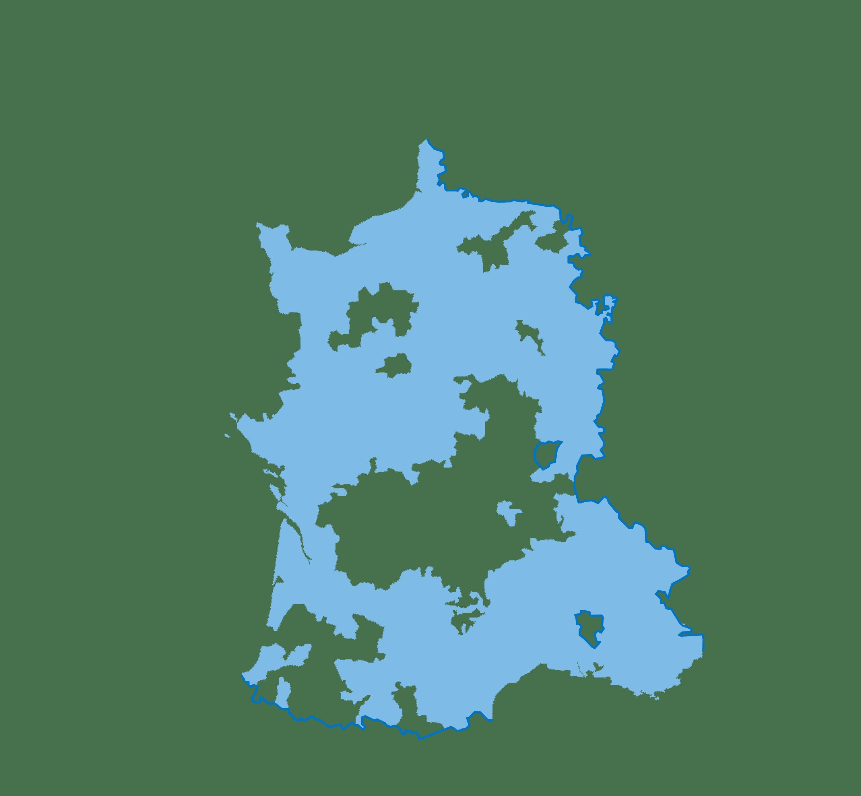 Domaine royal en 1515