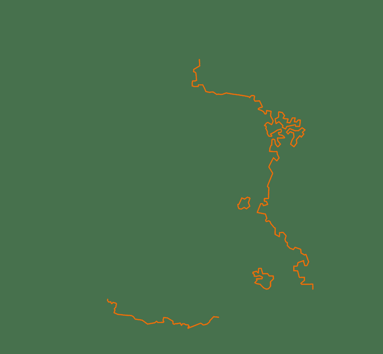 Les frontières de la France en 1600