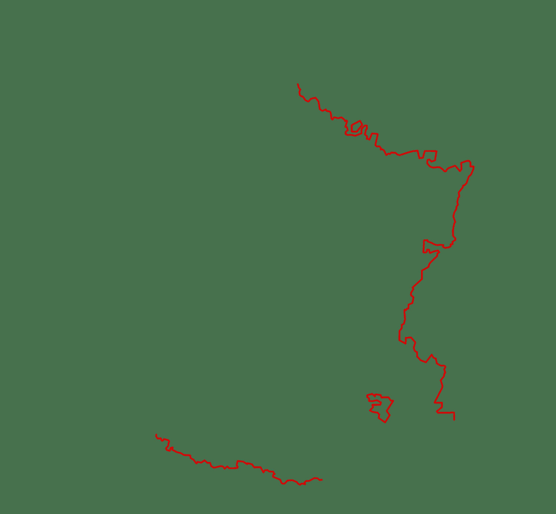 Les frontières de la France en 1789
