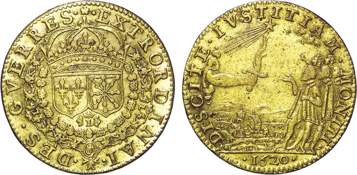 Pièce de monnaie, XVIIe siècle