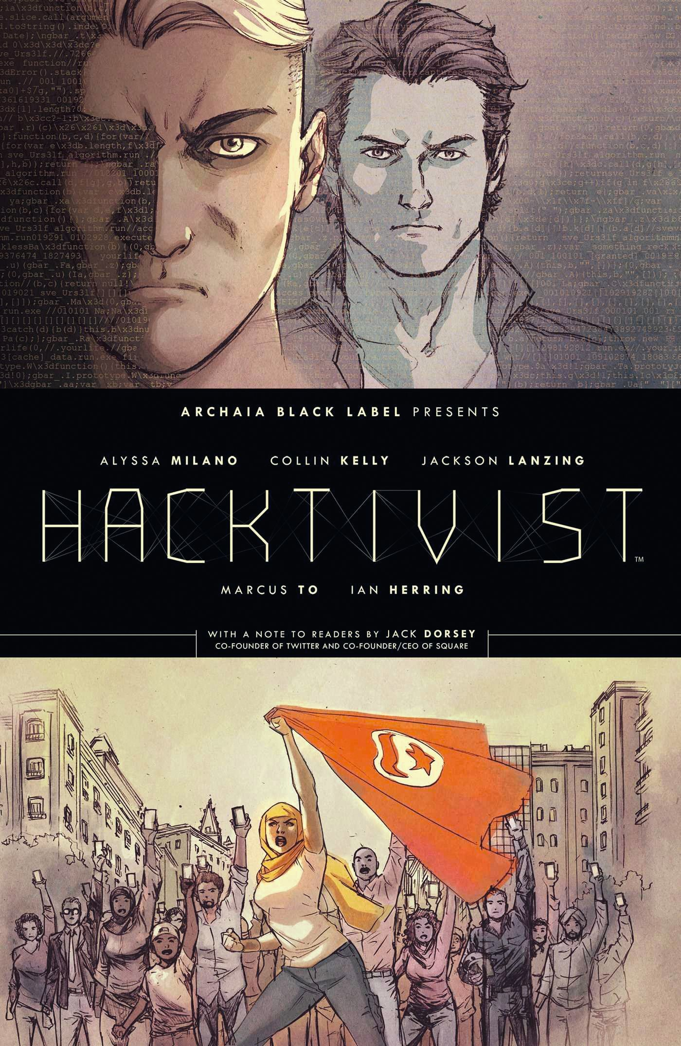 Front cover for Hacktivist by Milano and Lanzing