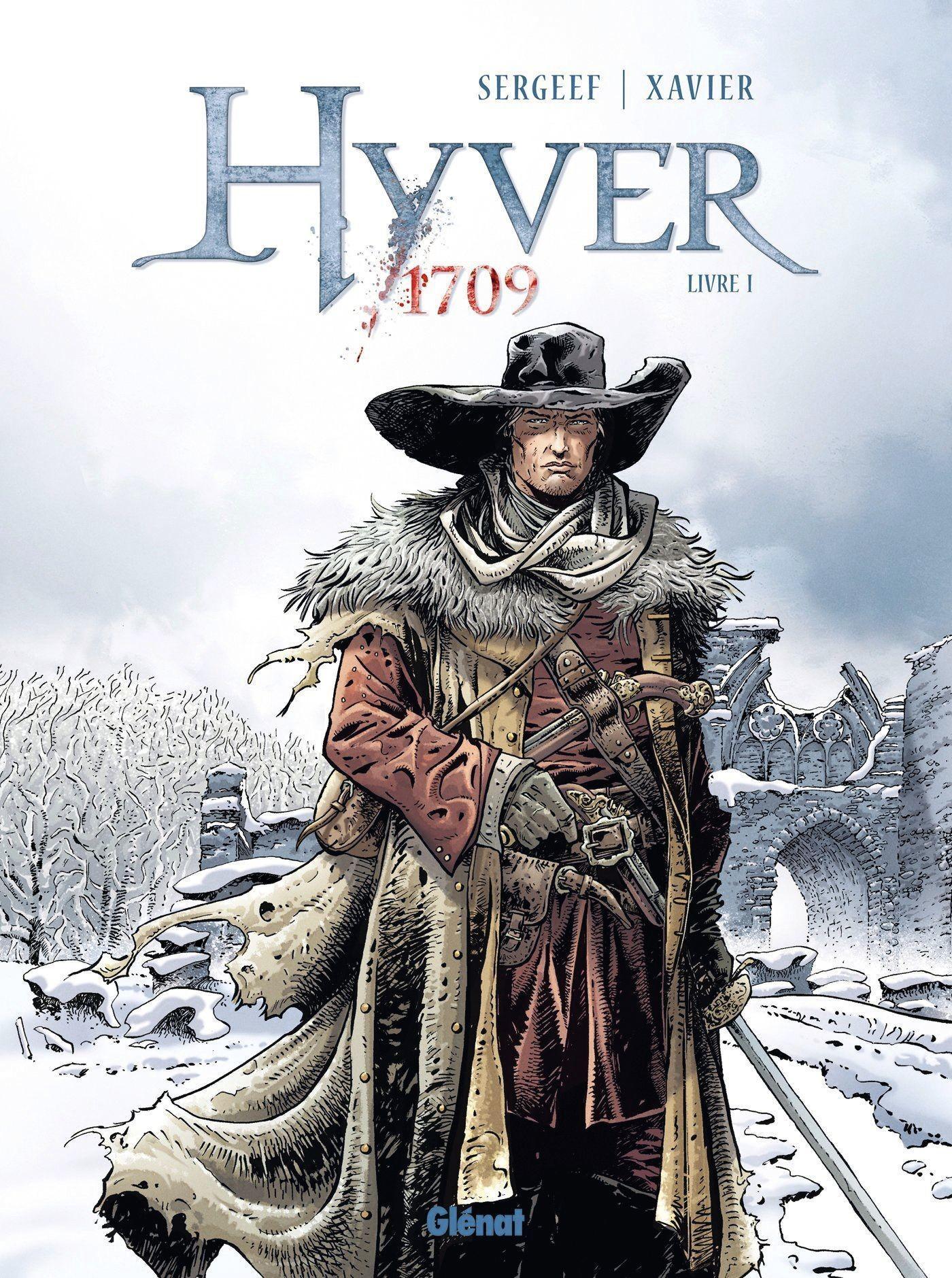 Hyver 1709 est une bande dessinée de Nathalie Sergeef et Philippe Xavier