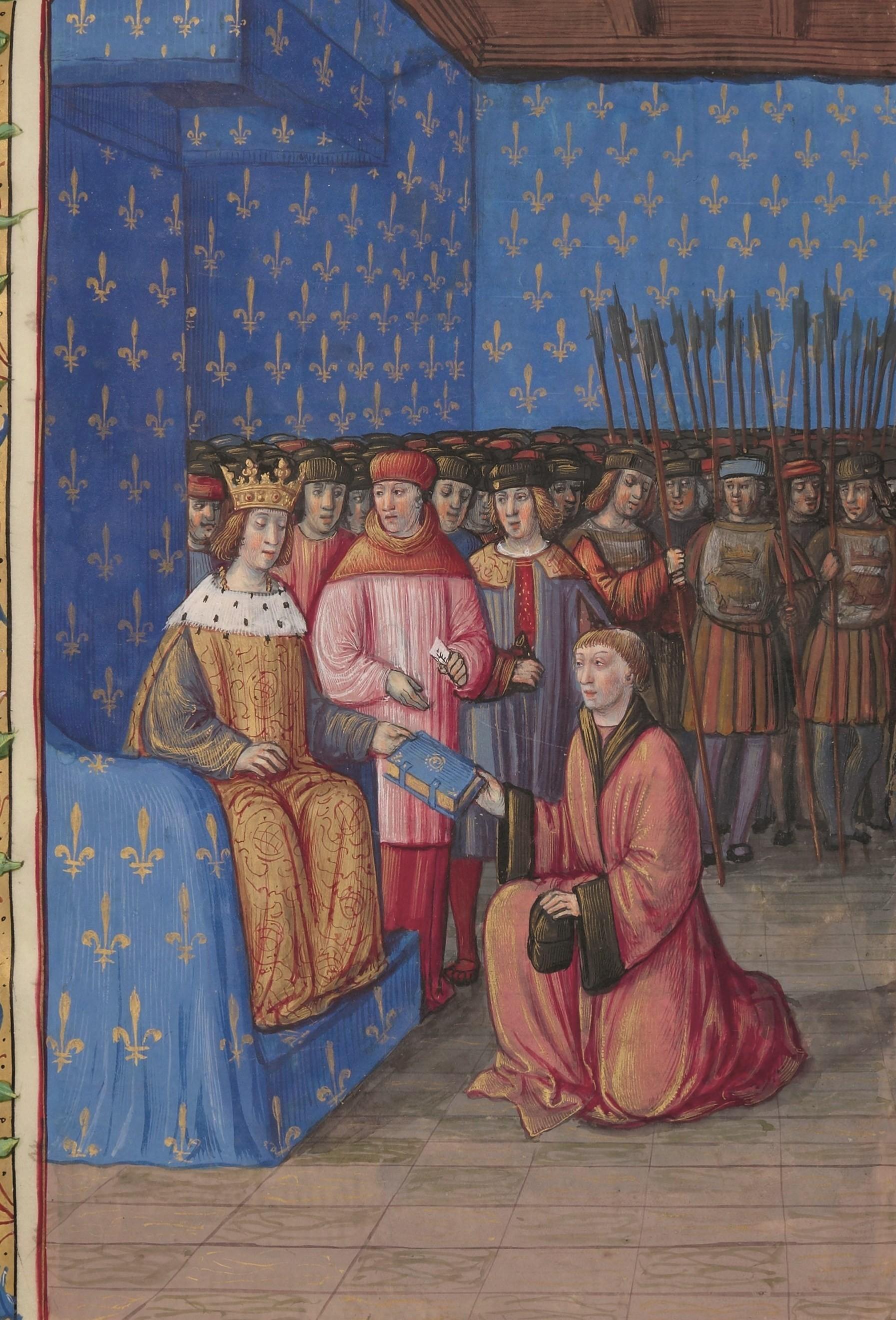 Claude de Seyssel devant le roi