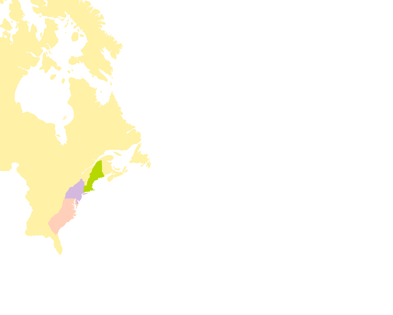 Les colonies britanniques en Amérique