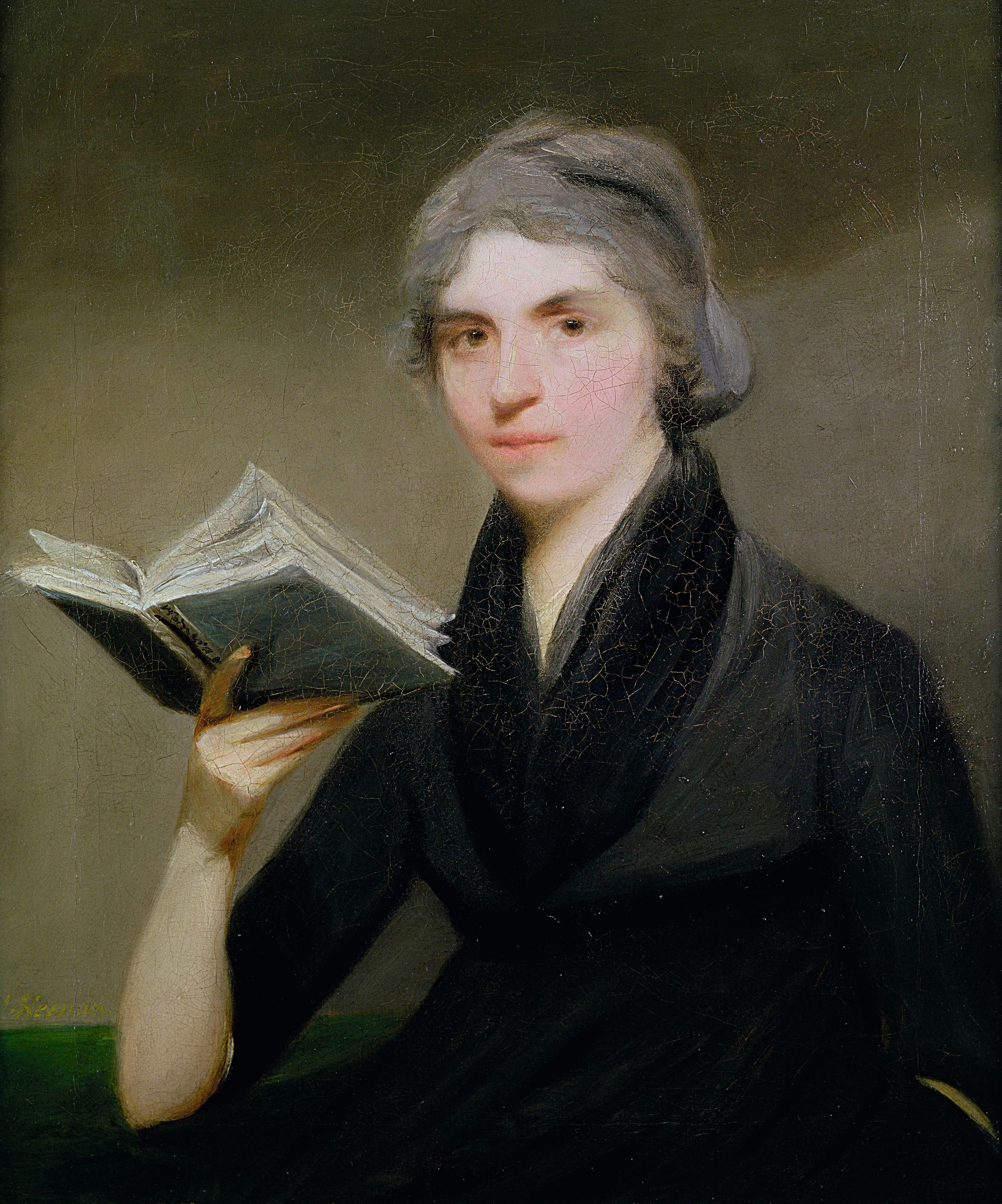 John Keenan, Portrait de Mary Wollstonecraft, 1787, collection privée