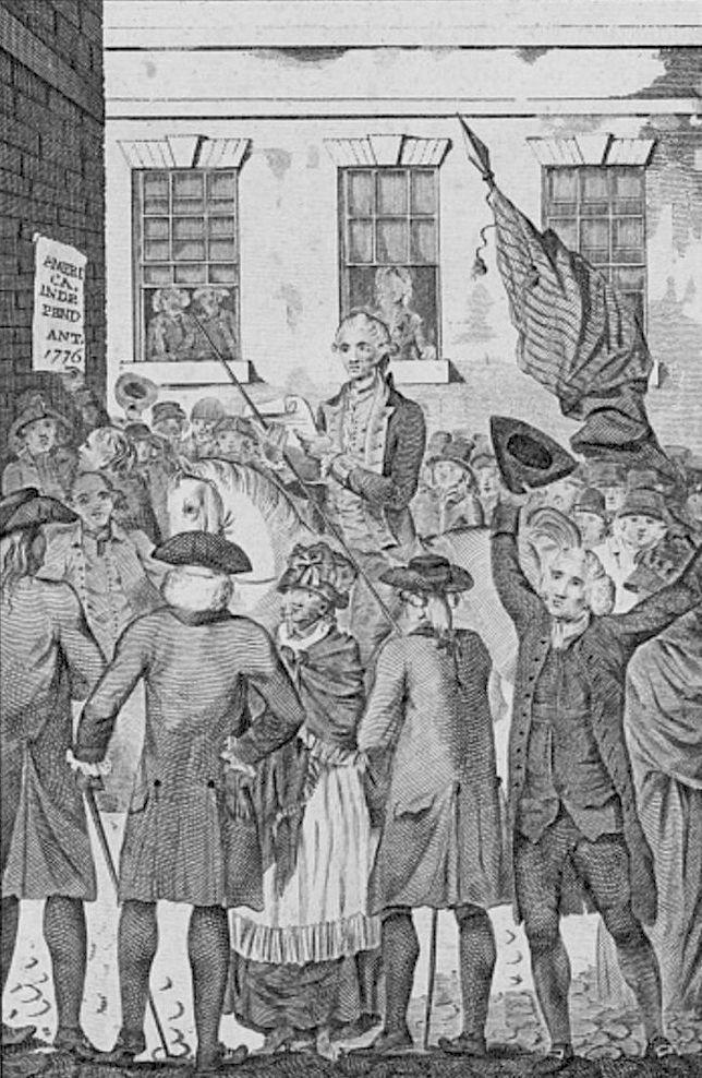 1776 - La Déclaration d'indépendance américaine