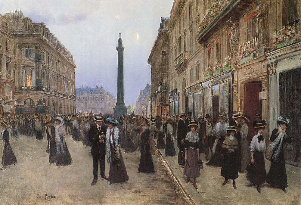 Jean Béraud La Rue de la Paix