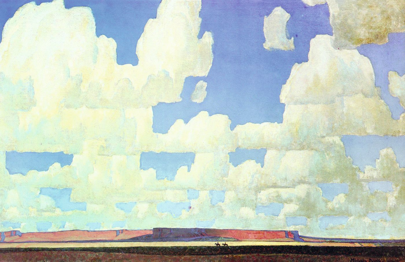 Cloud World, Maynard Dixon, 1925.