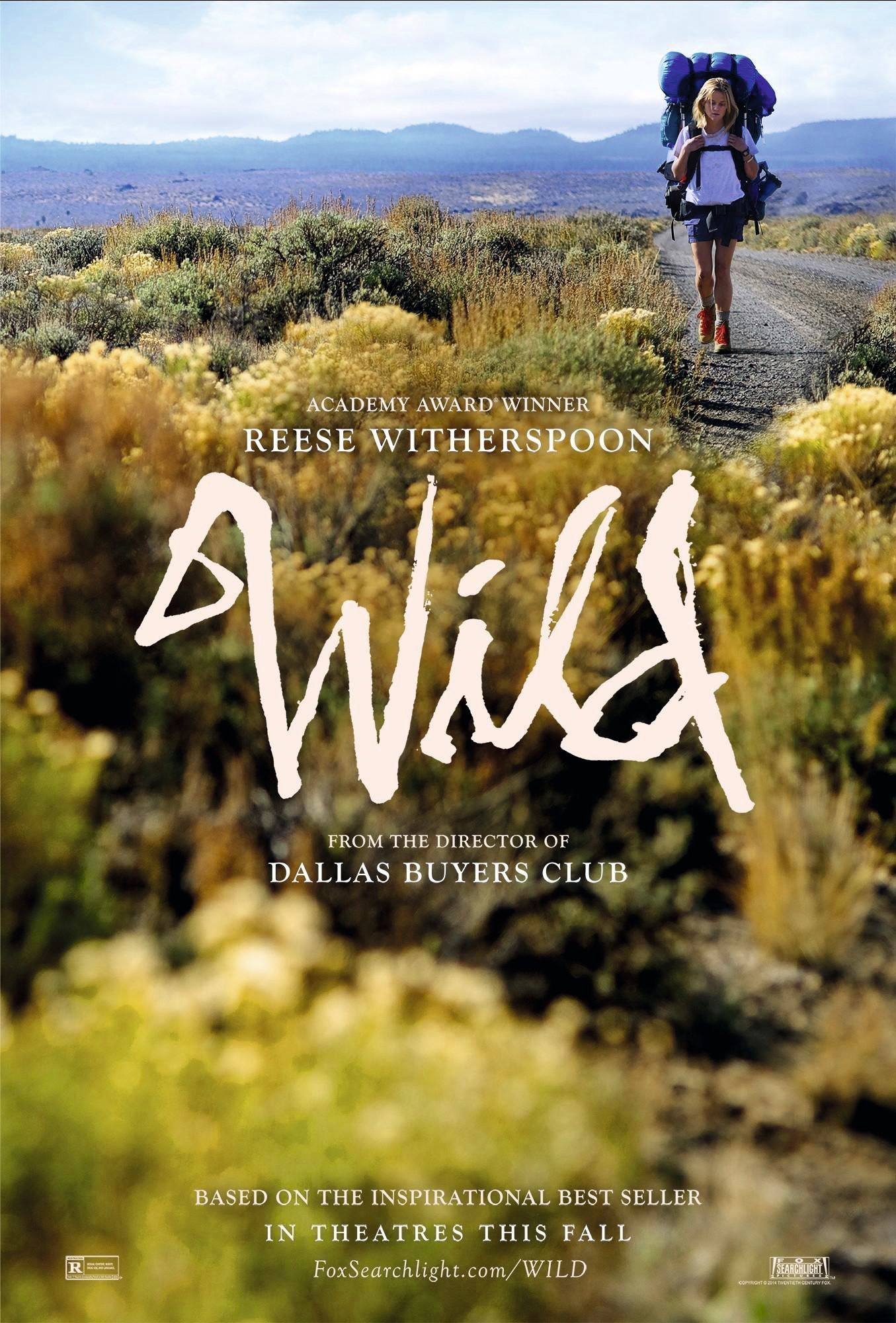 Wild, by Jean-Marc Vallée, 2014.