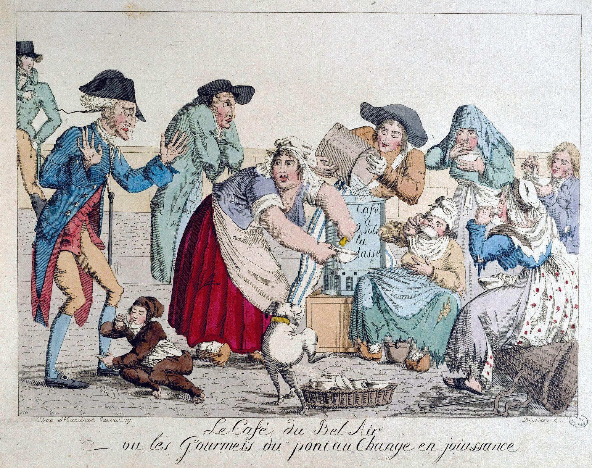 Estampe anonyme, XVIIIe siècle musée Carnavalet, Paris