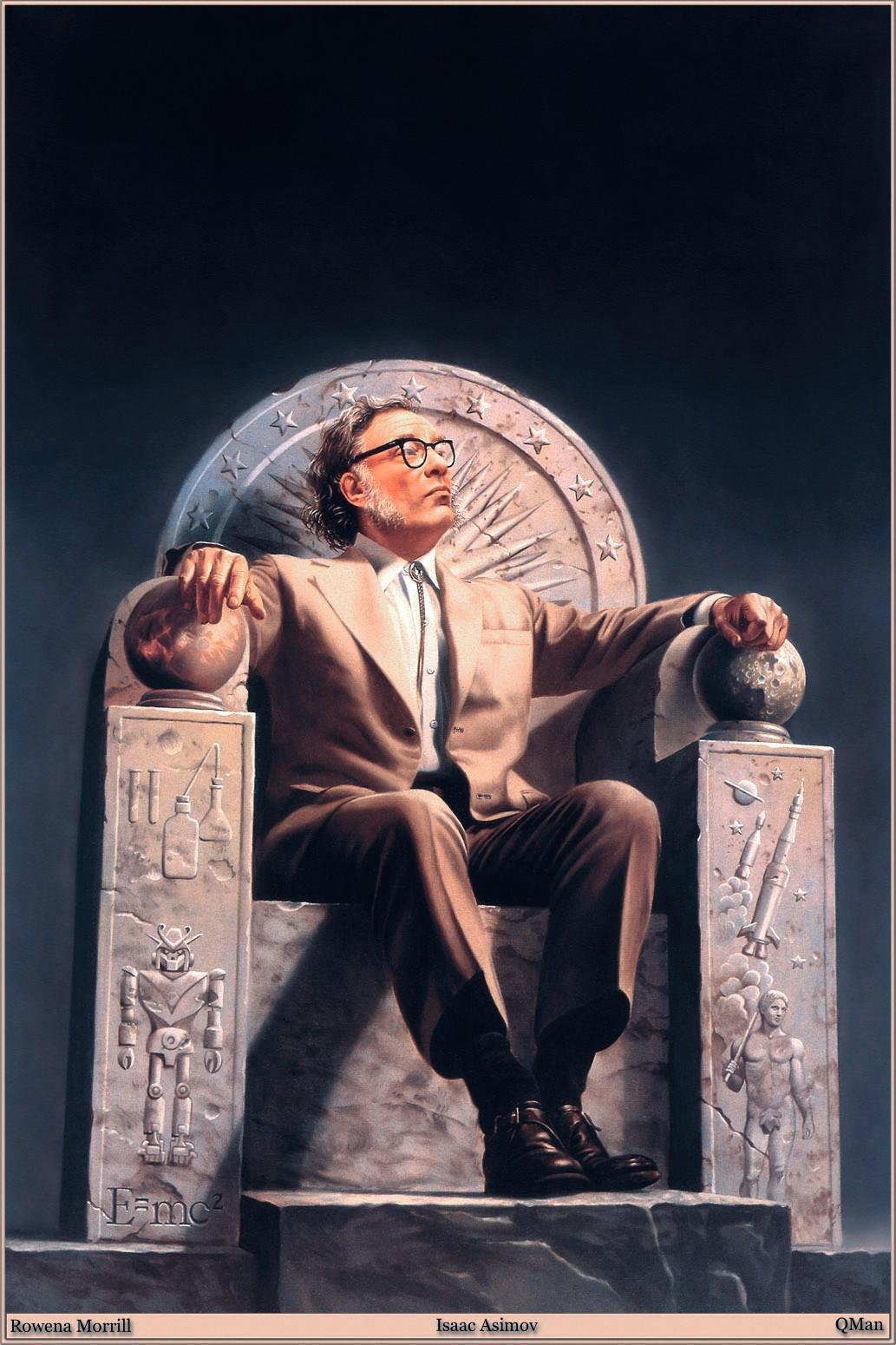 Isaac Asimov, 1970.