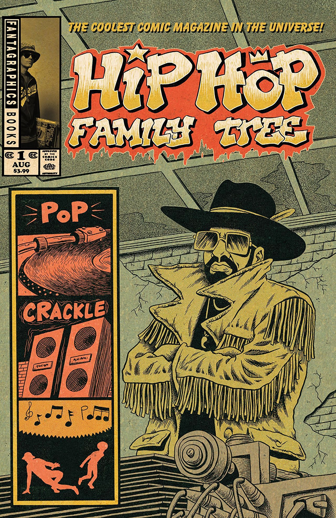 Hip Hop Family Tree, by Ed Piskor, 2015.