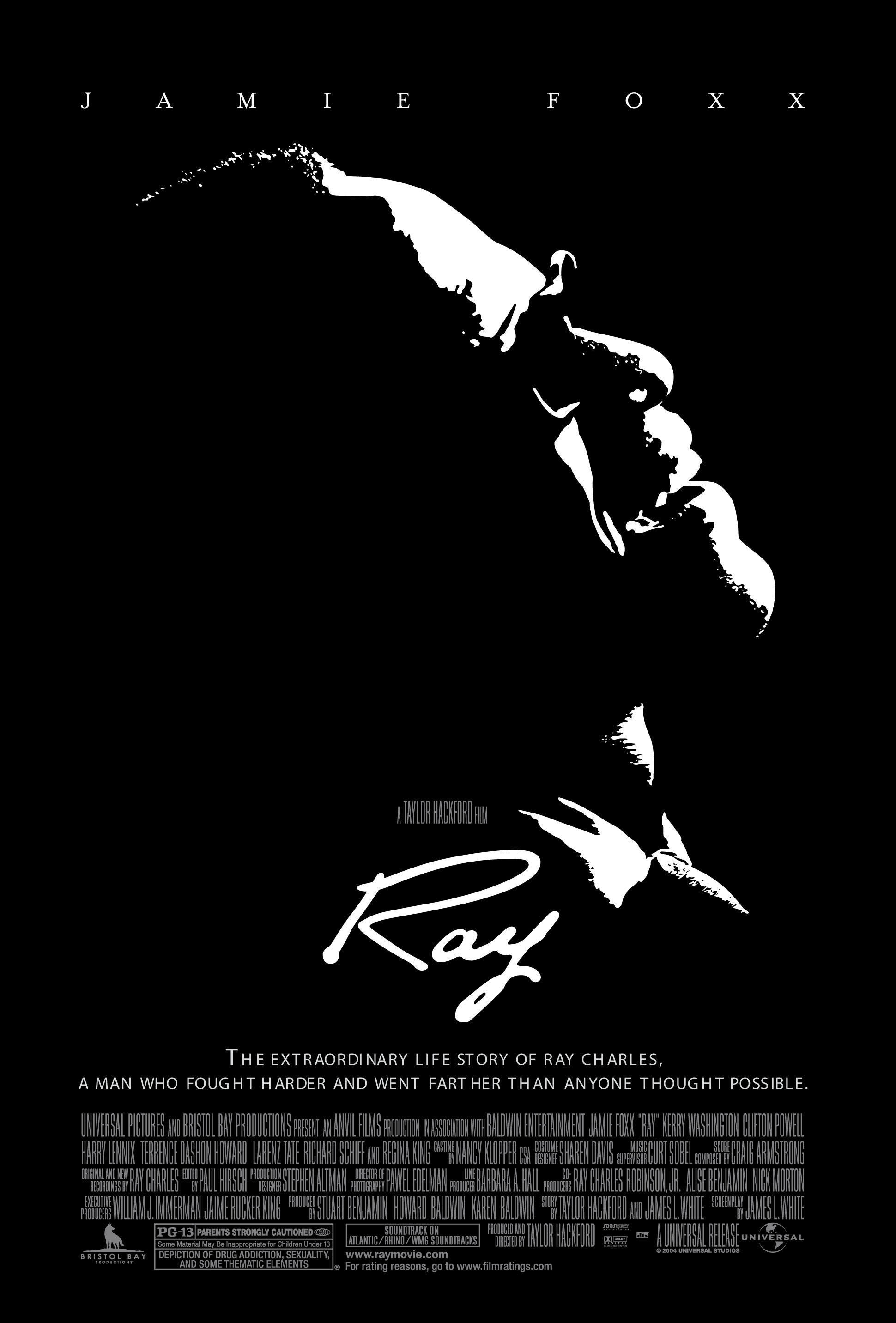 Ray, by Tailor Hackford, 2004