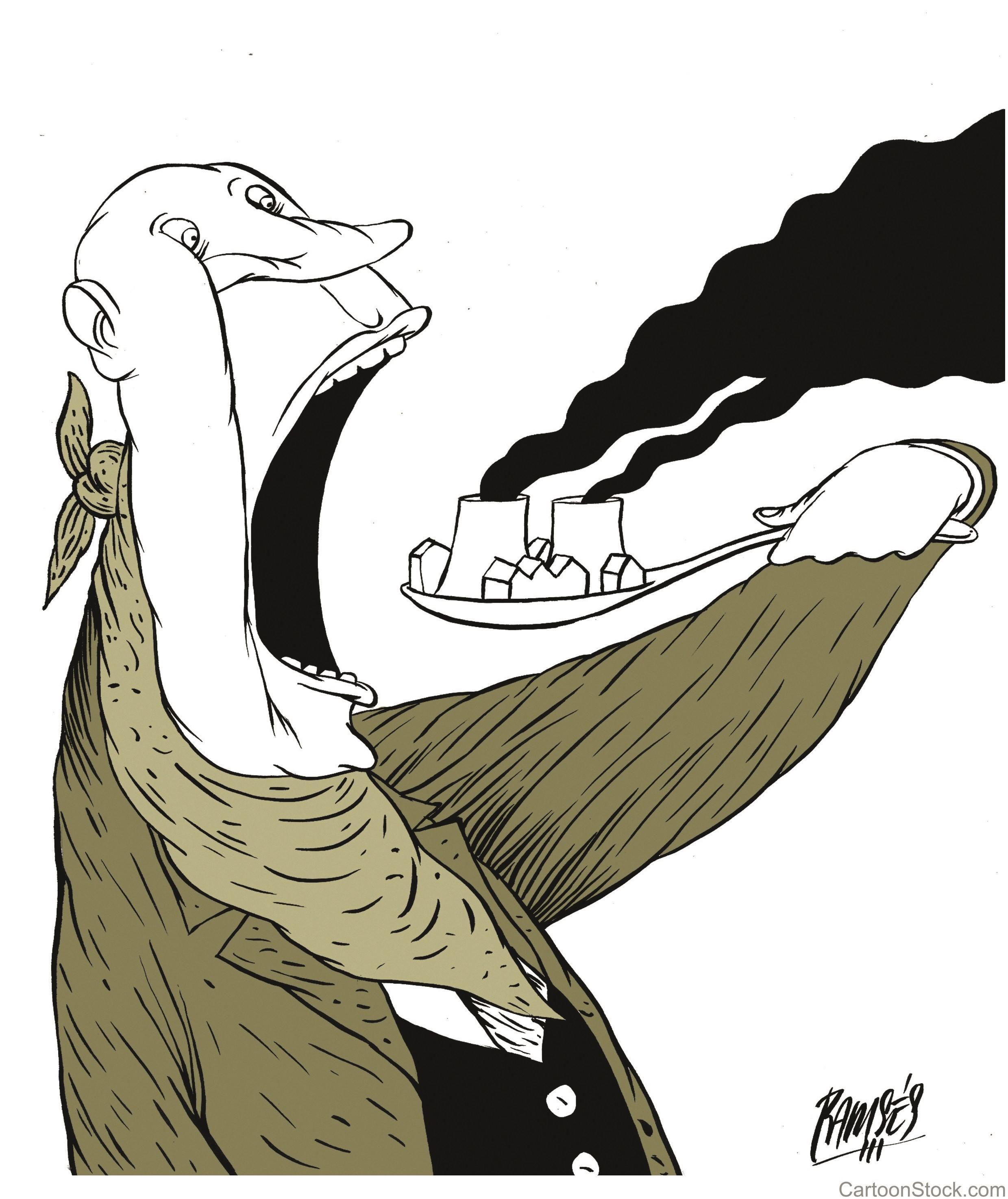 Greed and Pollution, Morales Izquierdo, 2016.