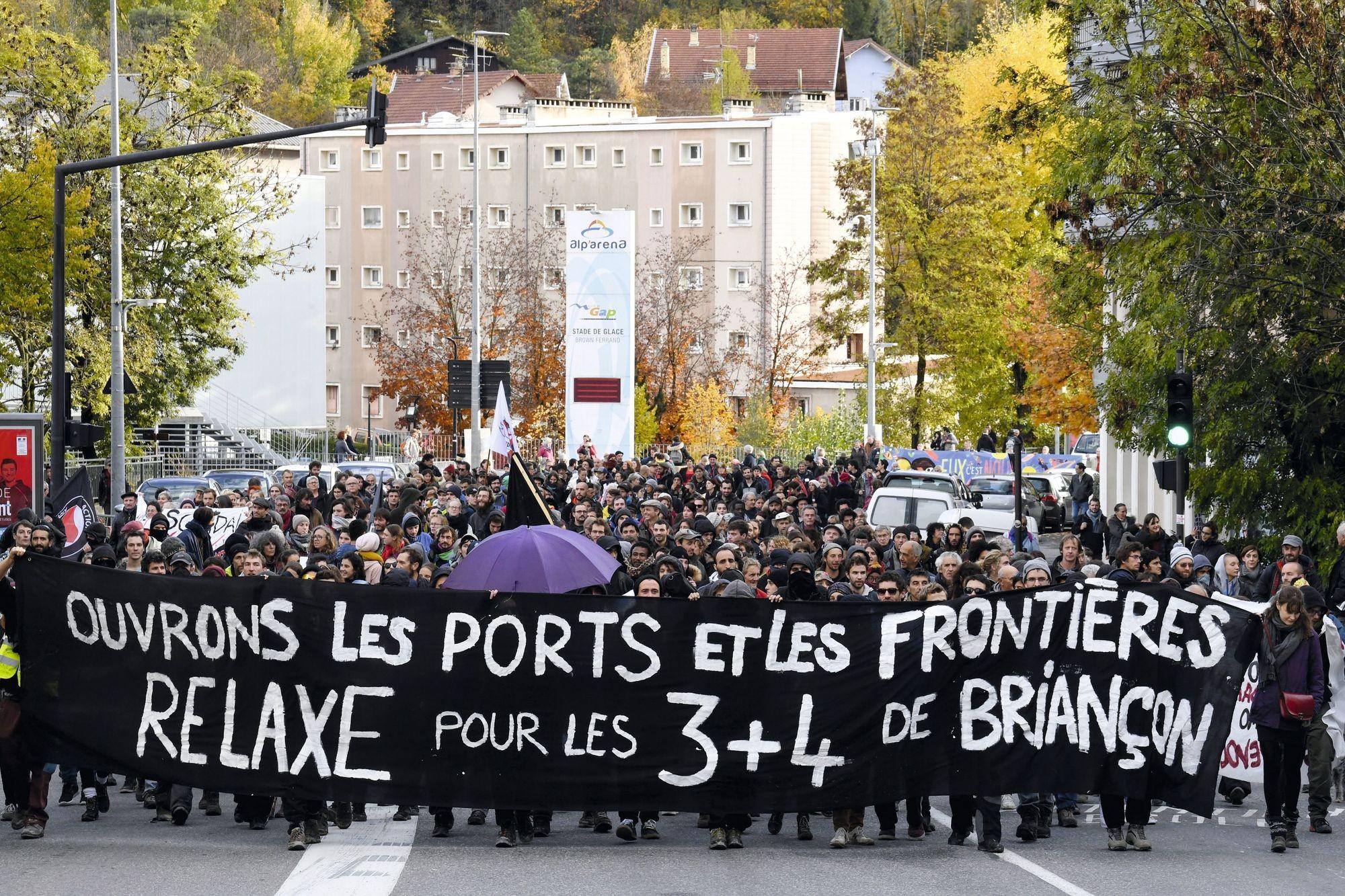 Manifestation à Gap, 8 novembre 2018