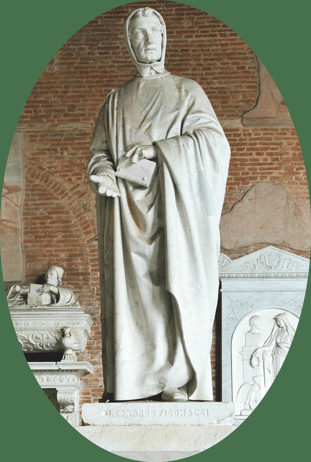Statue de Leonardo Pisano