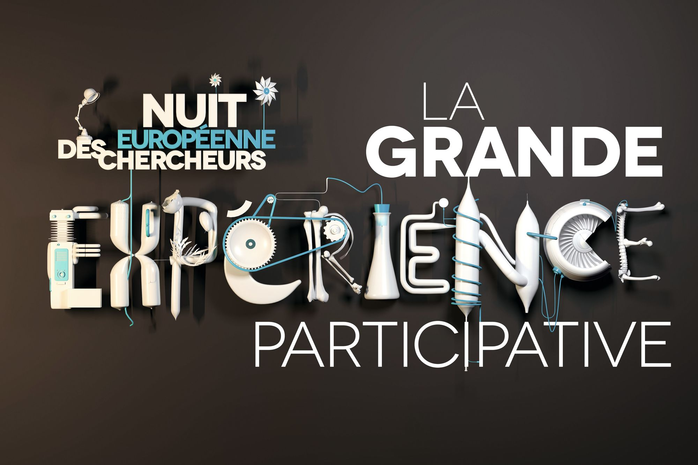 Affiche de promotion de la Nuit européenne des chercheurs.