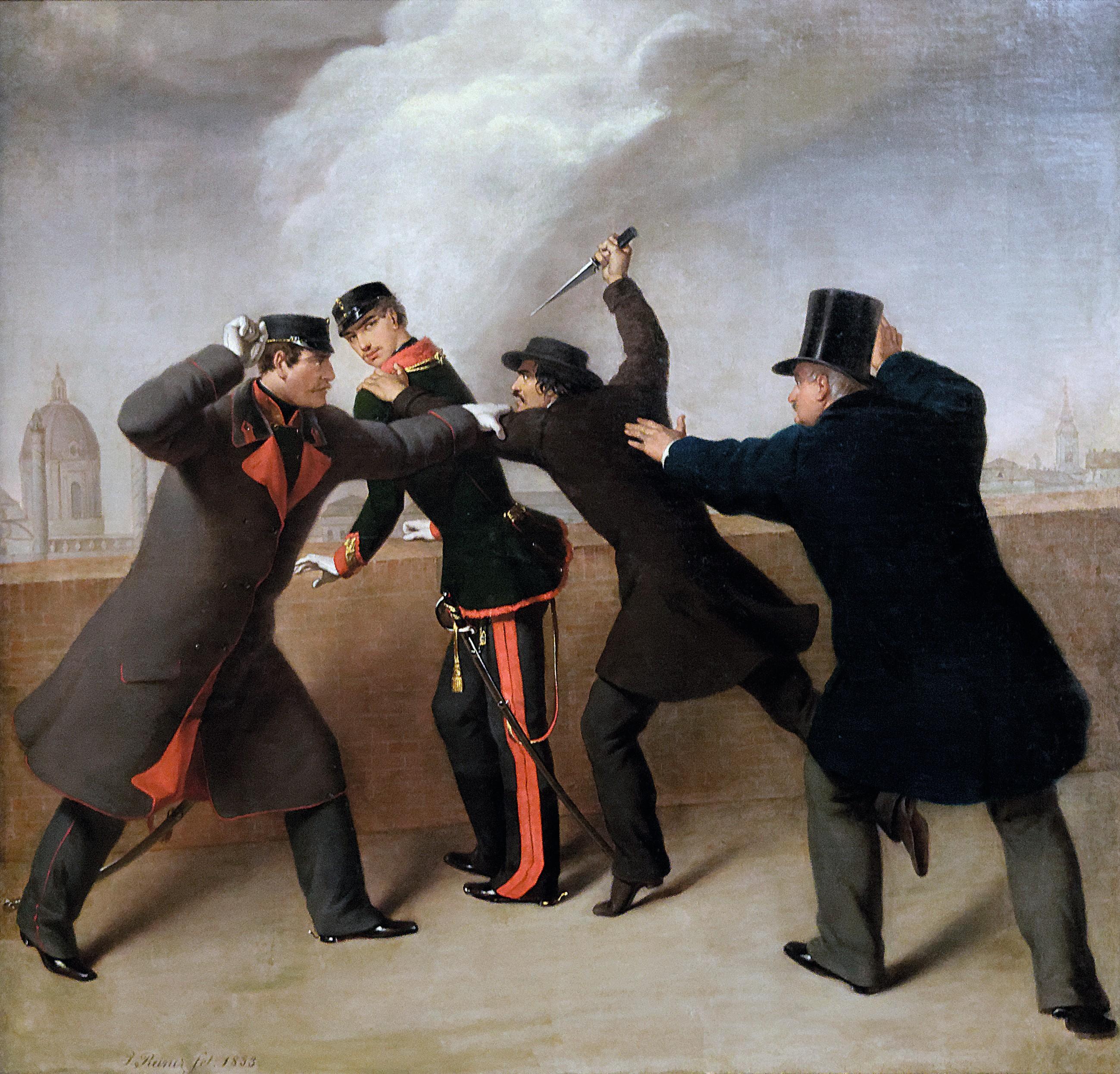 J. Reiner, Tentative d'assassinat de l'empereur Franz Joseph