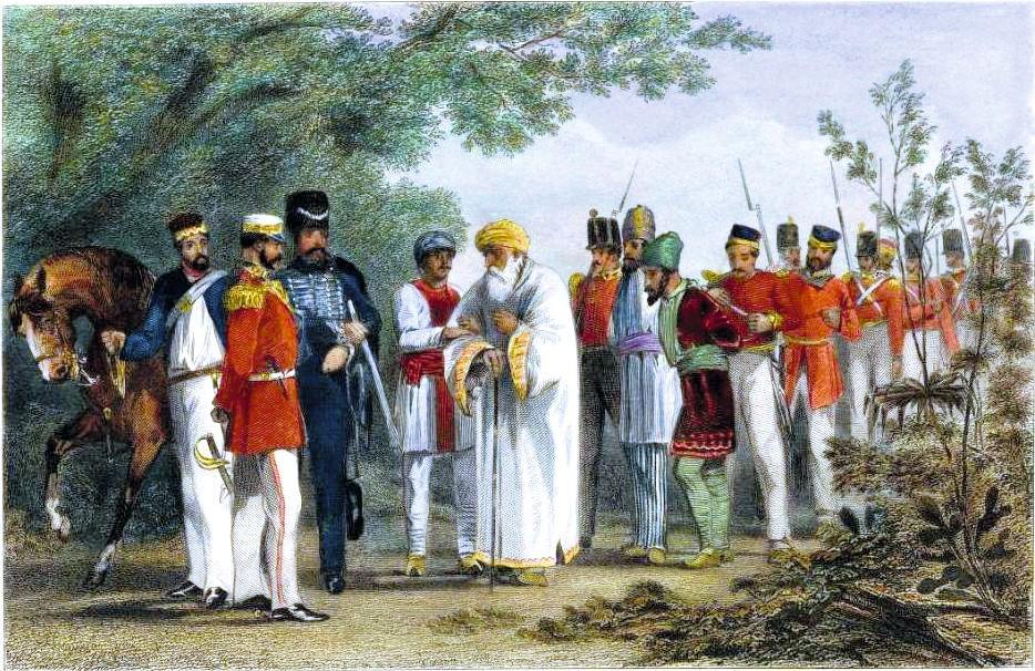 La révolte des Cipayes