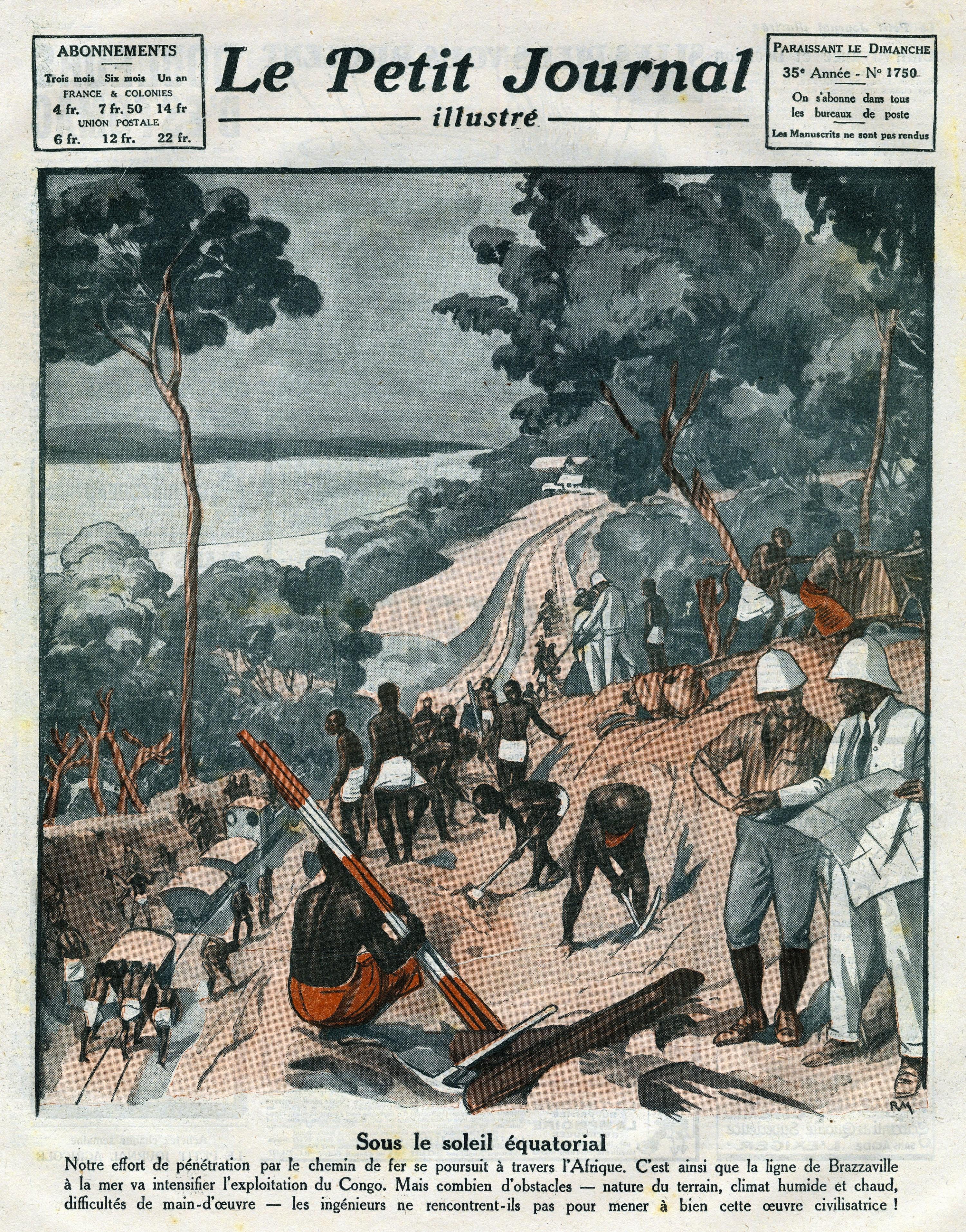 Couverture du Petit Journal illustré, n°1750, 1924.