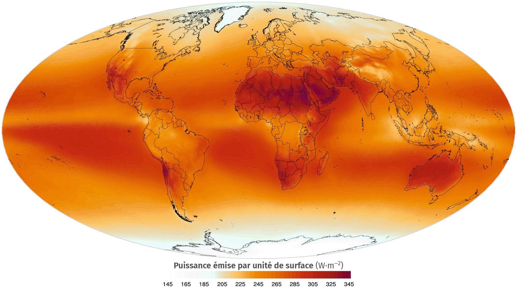 L'émission infrarouge terrestre
