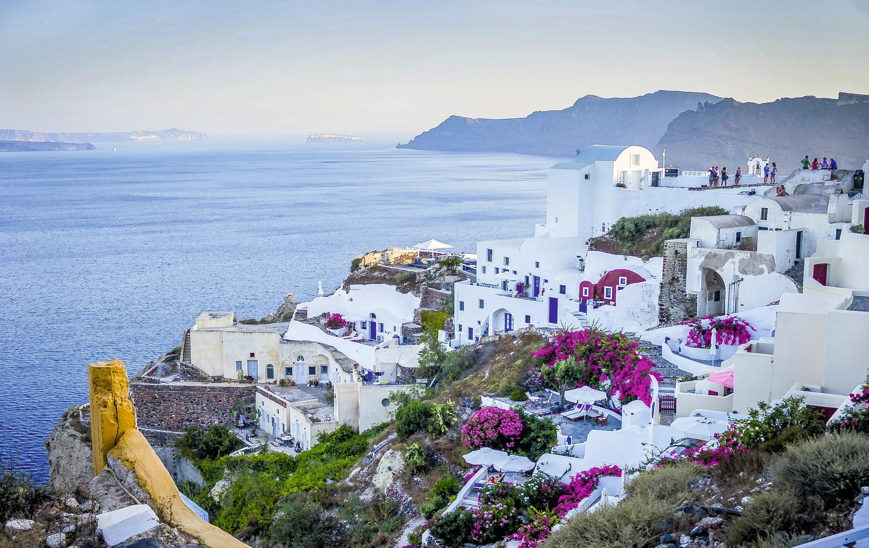 Le village d'Oia, en Grèce