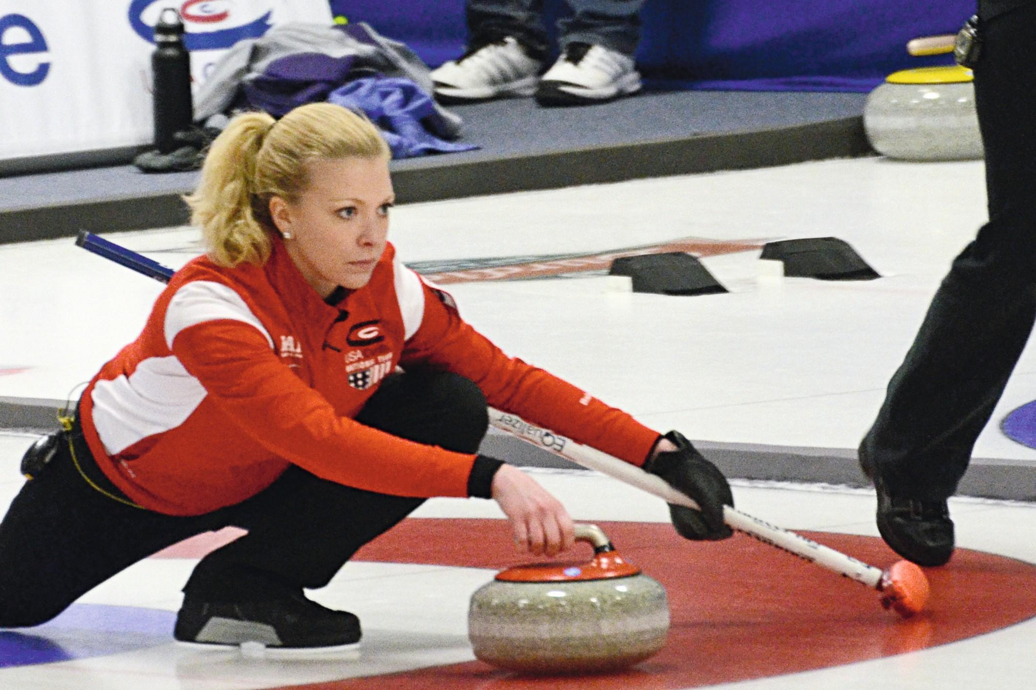 Pratiquer le curling