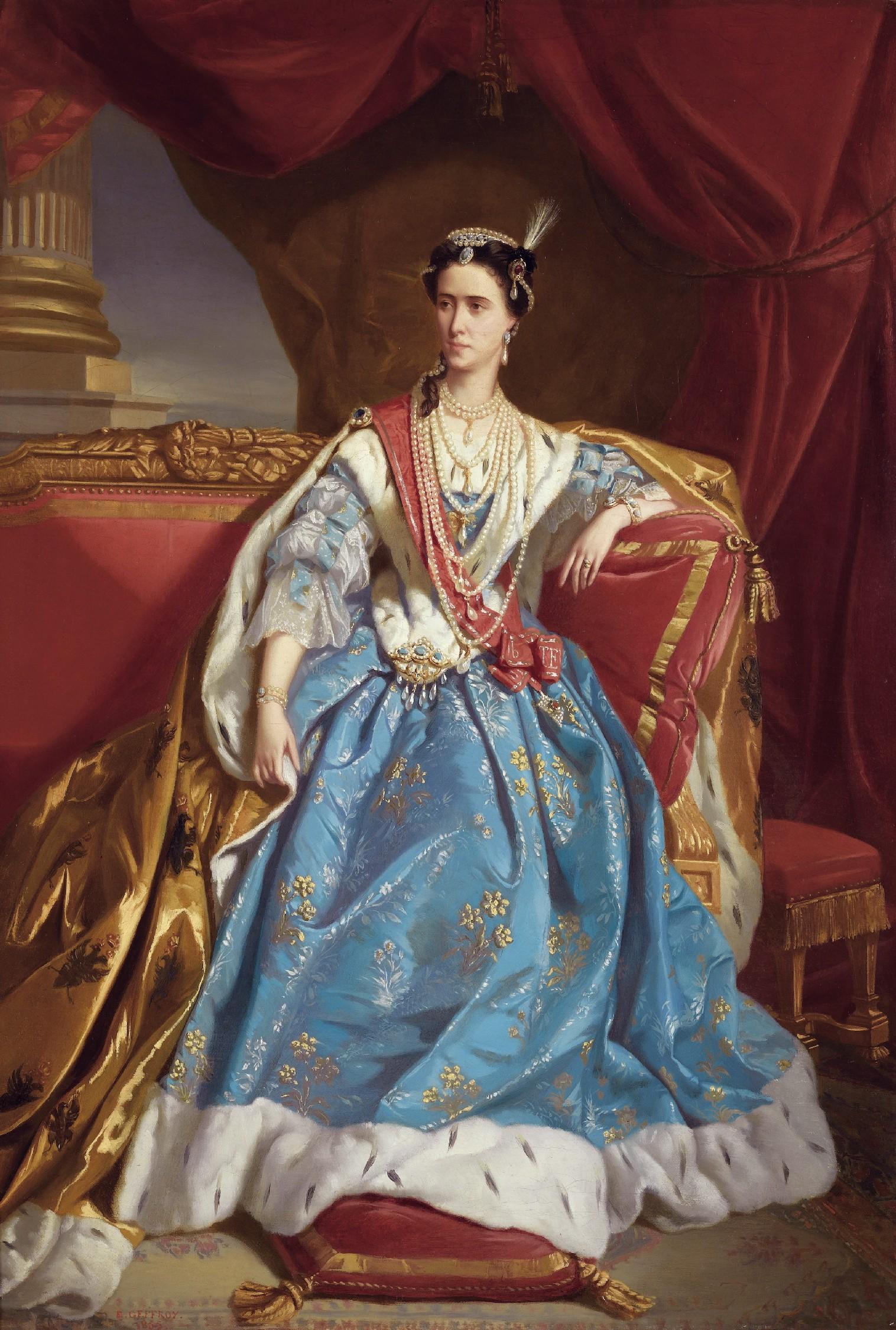 Edmond-Aimé-Florentin Geoffroy, Mademoiselle Rachel dans le rôle de Catherine première de Russie