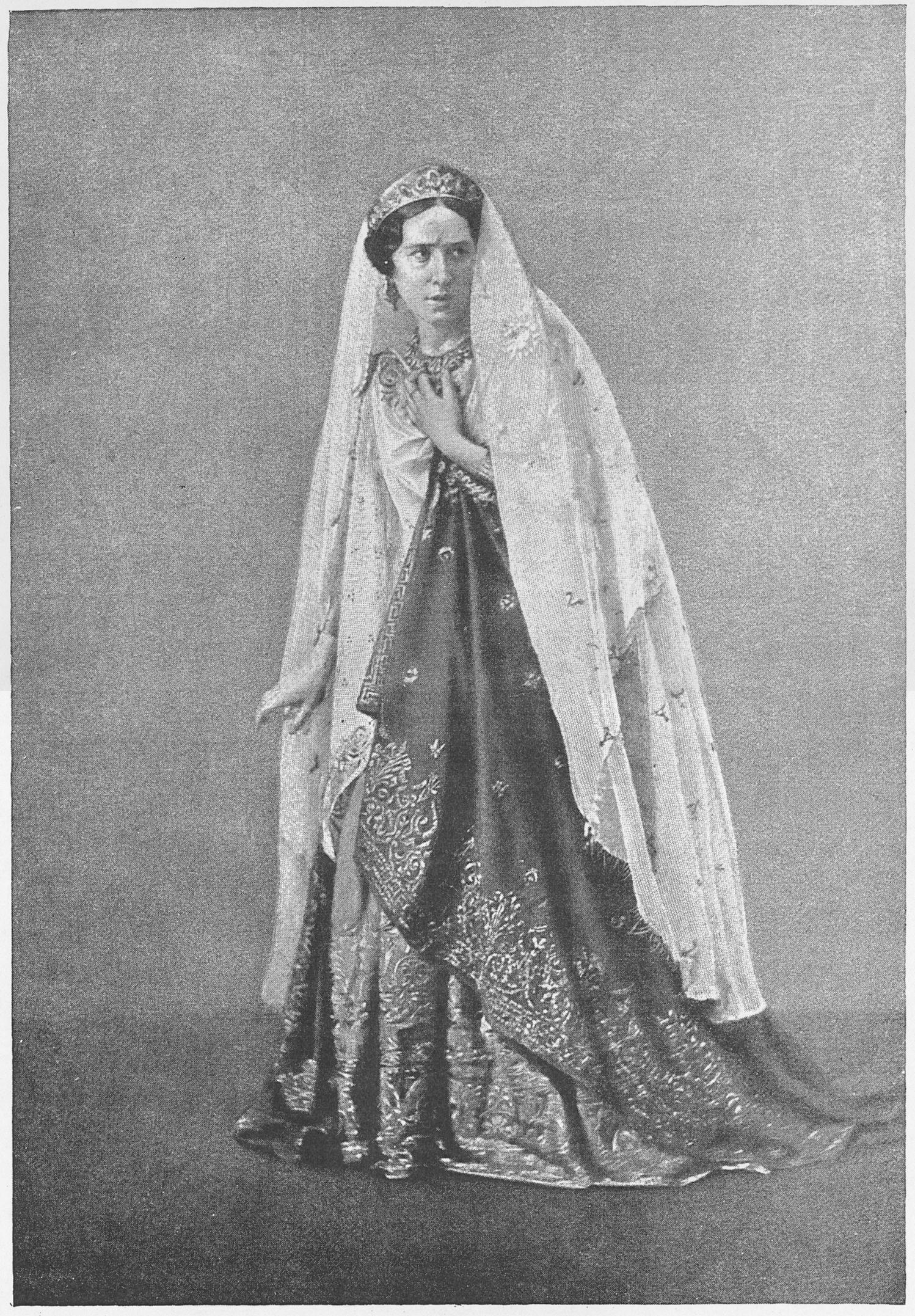 Rachel dans le rôle de Phèdre