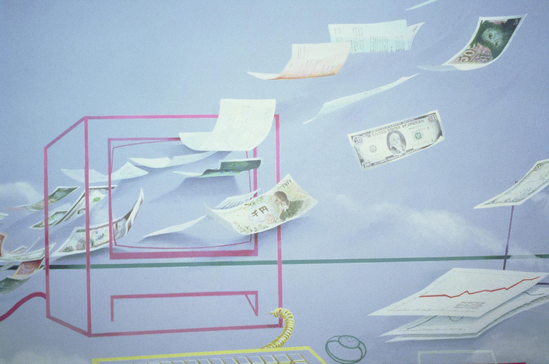 Executive Money I, Lincoln Seligman, 2014.