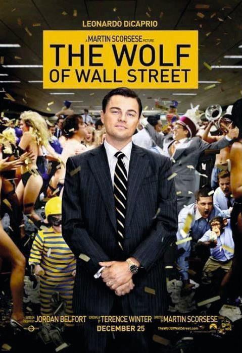 Martin Scorsese Le Loup de Wall Street