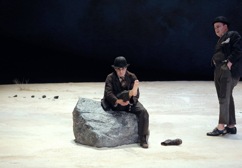 En attendant Godot, mise en scène de J.-P. Vincent, 2015.
