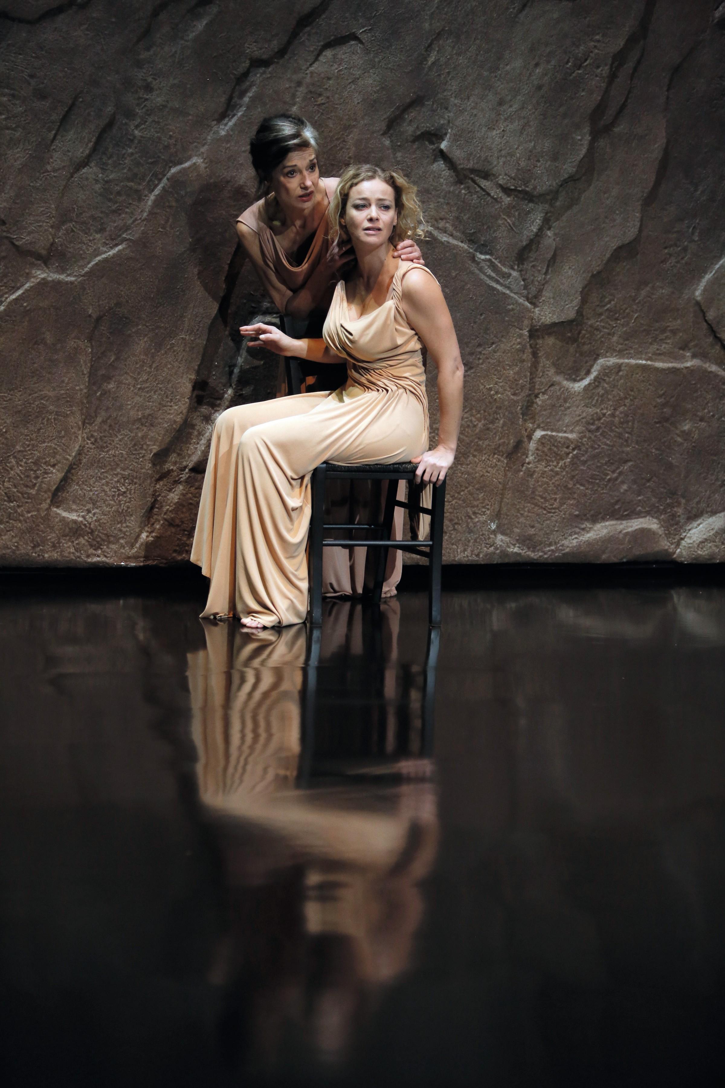Phèdre, mise en scène de J.-L. Martinelli, 2012.