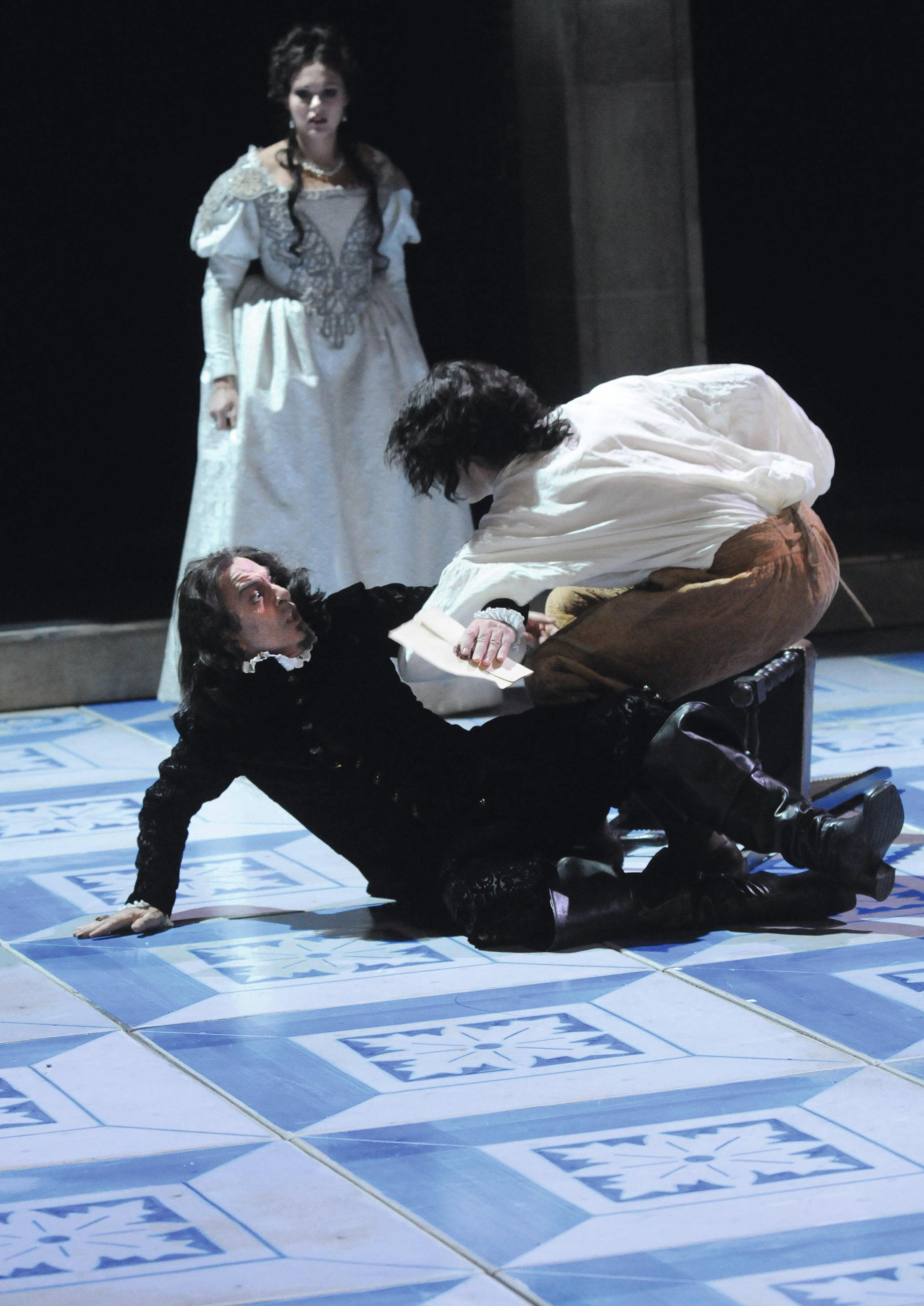 Ruy Blas, mise en scène de C. Schiaretti, 2011.