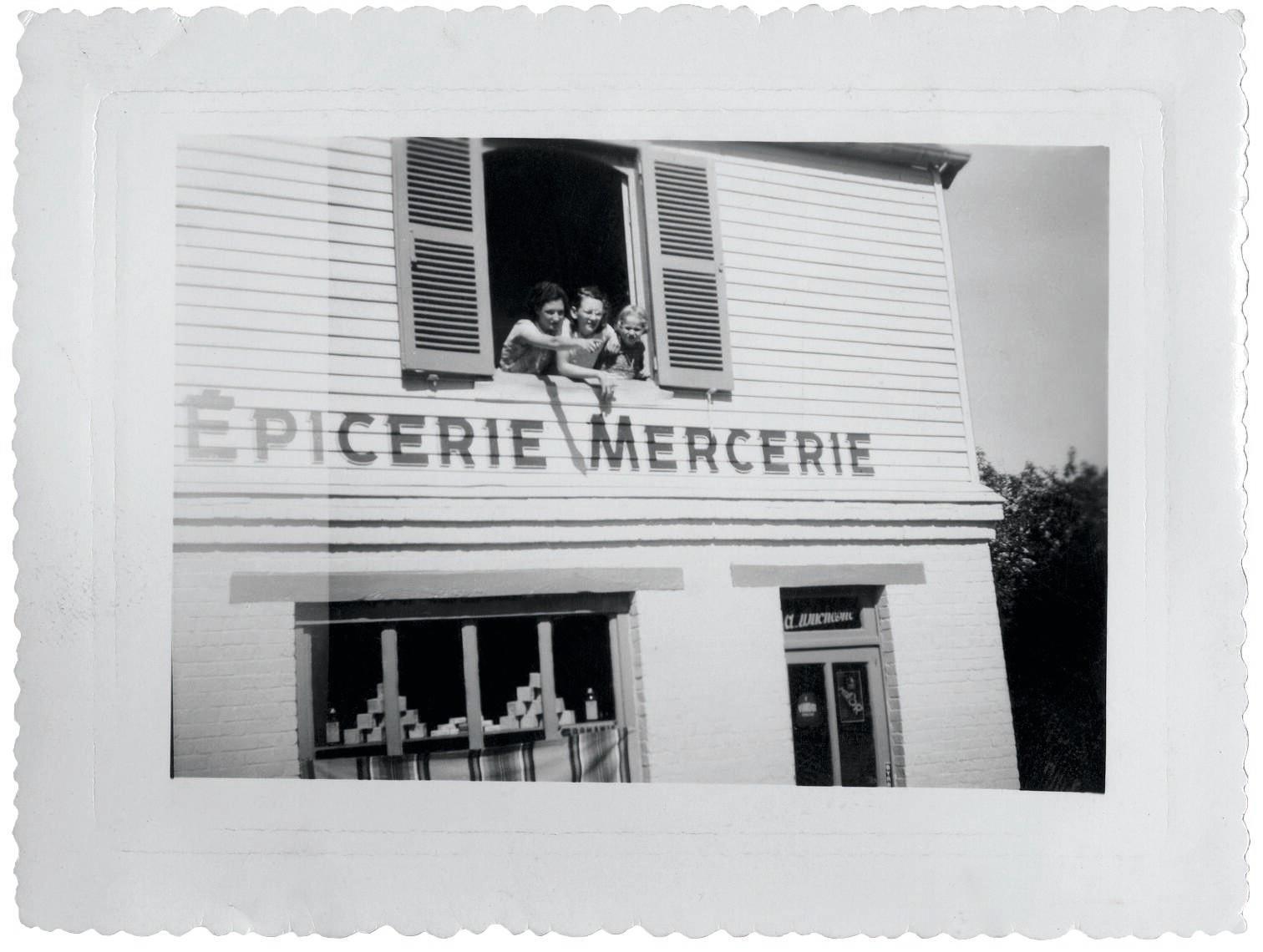 Photo figurant dans « Écrire la vie », par Annie Ernaux, Gallimard, Quarto, 2011 © Archives privées d'Annie Ernaux. D.R.